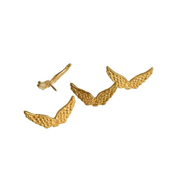 Pin Engelsflügel, gold