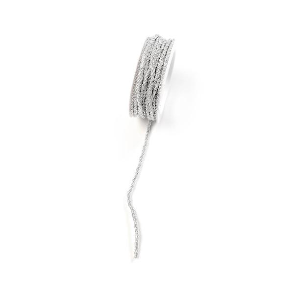 Kordel Glam, silber