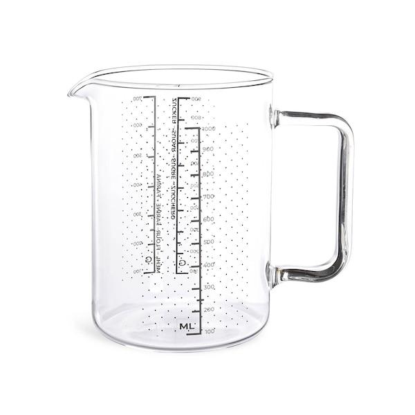 Messbecher Glas, klar