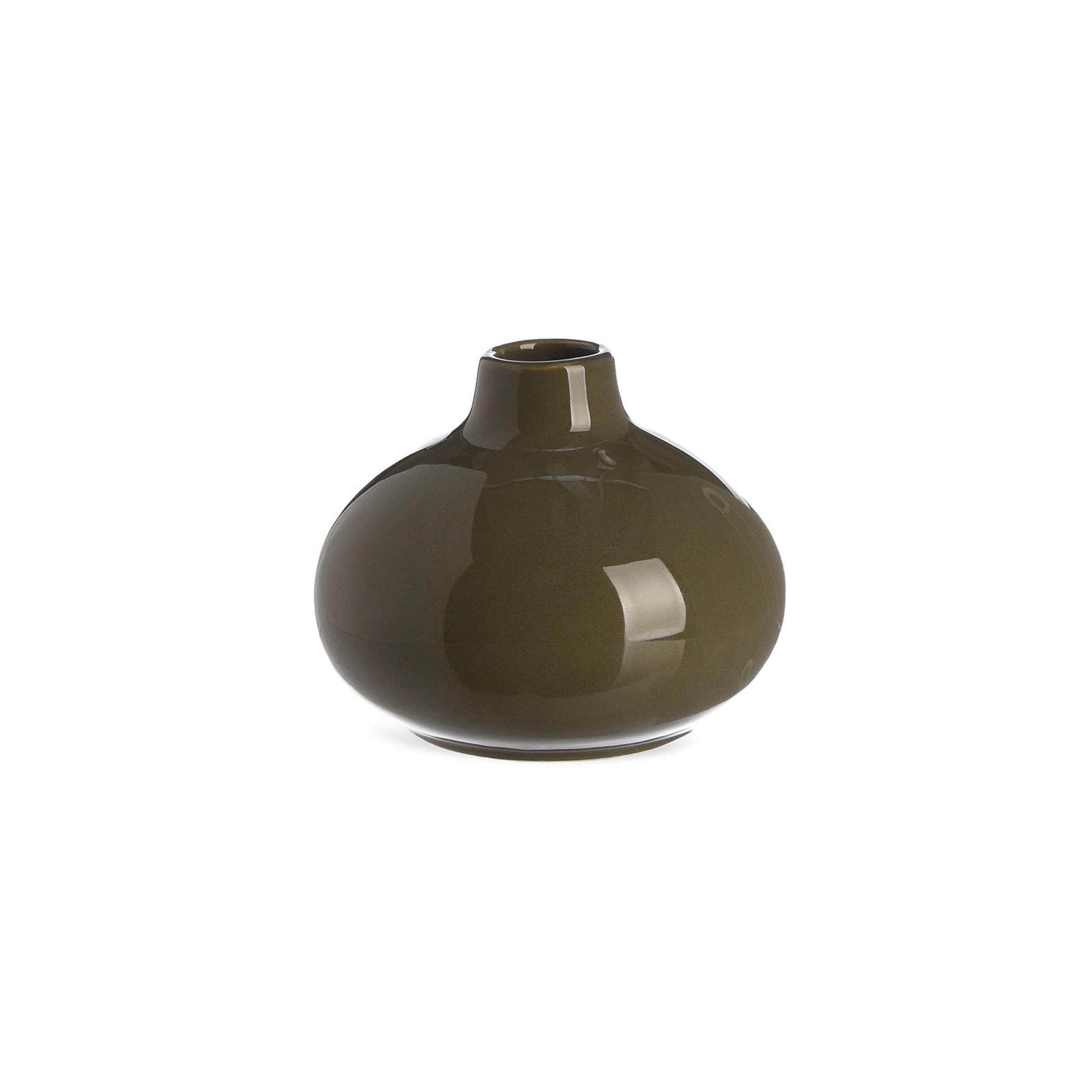 Vase mini Marrakesch ca.D10xH8, moosgrün