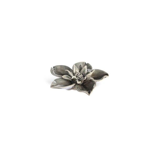Dekoobjekt Blume, taupe