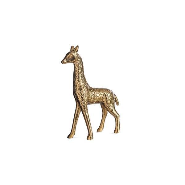 Dekofigur Giraffe, gold