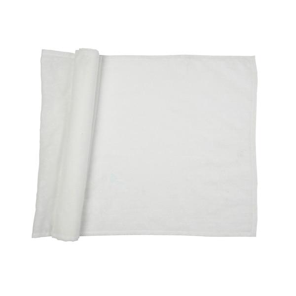 Dekostoff, bedruckt, weiß