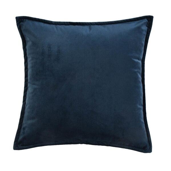 Samt-Kissenhülle, blau