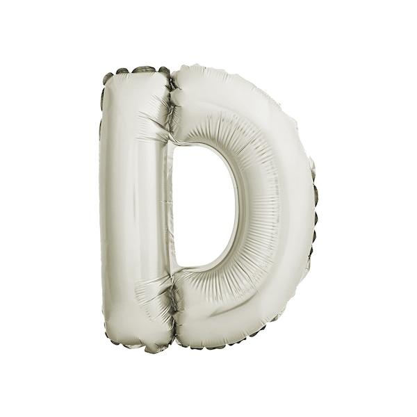 Folienballon Buchstabe D, gold