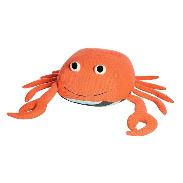 Sitzpouf Krabbe, koralle