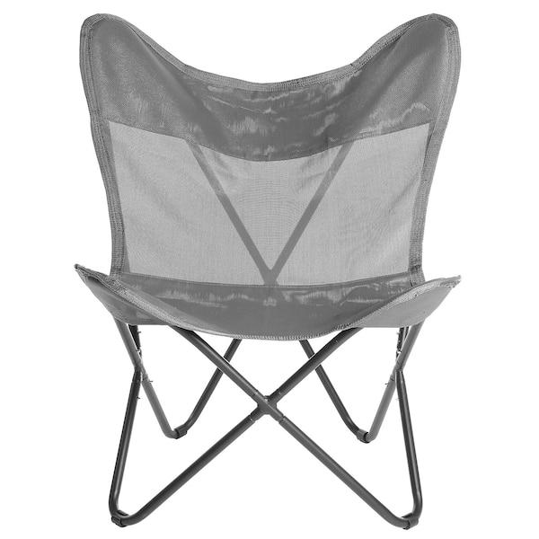 Outdoor-Stuhl, klappbar, taupe
