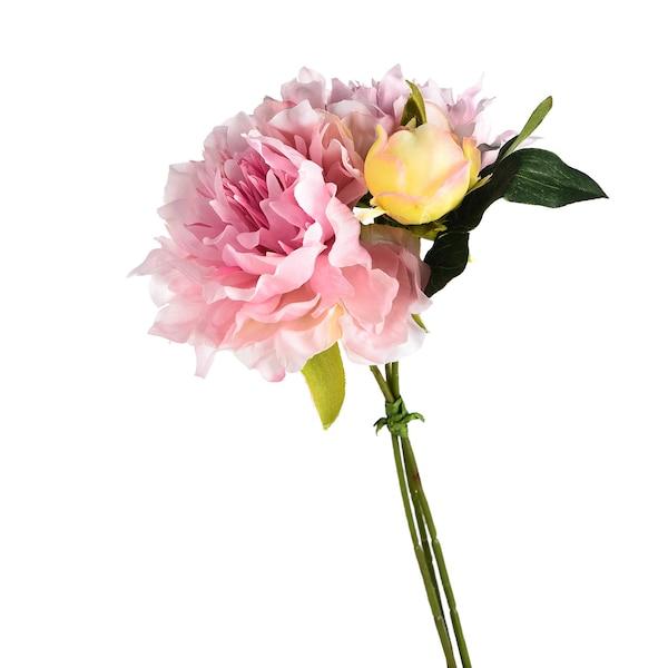 Kunstblumenbündel Pfingststrauß, rosa