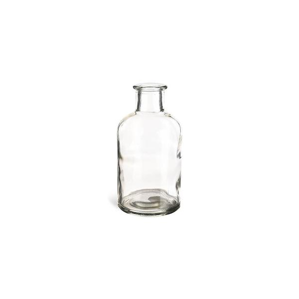 Vase aus Glas, klar