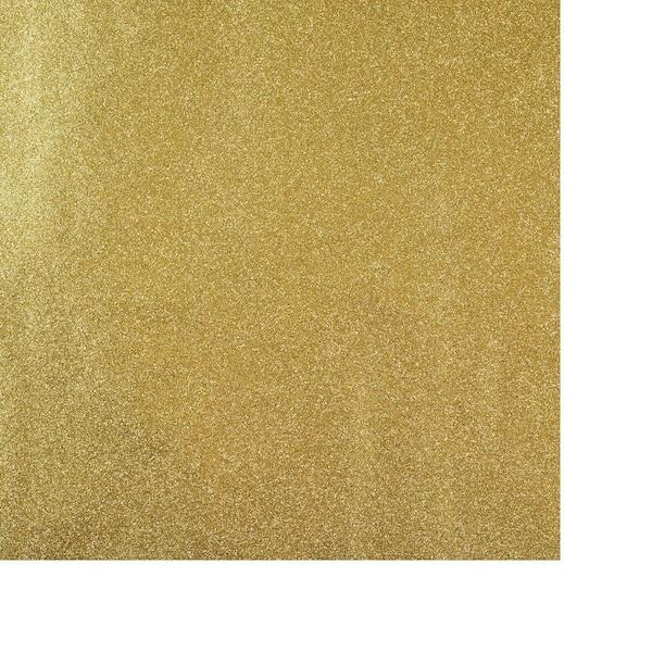 Geschenkpapier Uni Glitter, gold