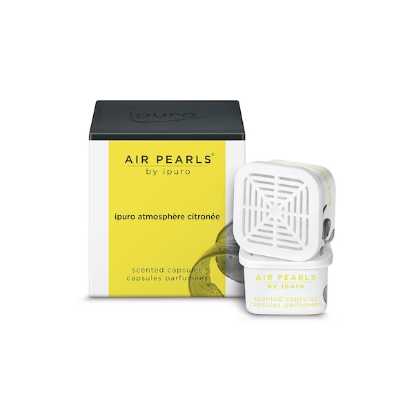 ipuro Duftkapseln Air Pearls, atmosphère citronée, ohne Farbe