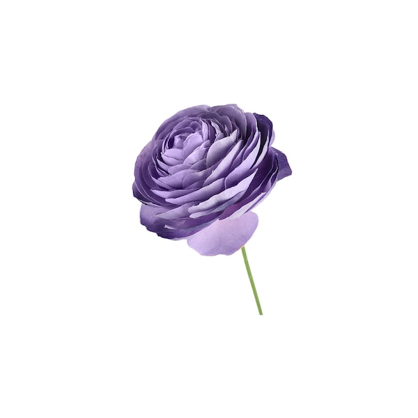 Kunstblumenpick Ranunkel, flieder