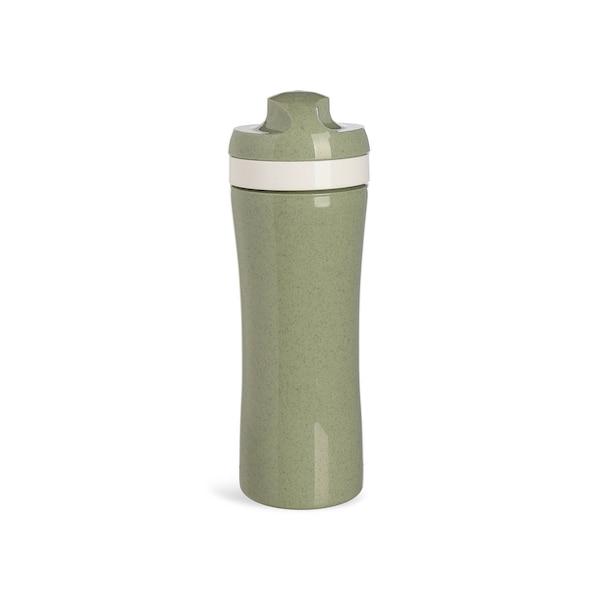 Trinkflasche Oase, graugrün