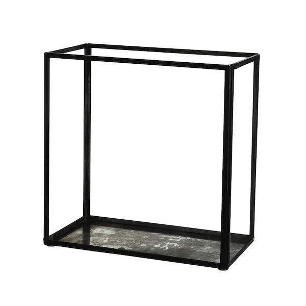 Laterne aus Glas, klar