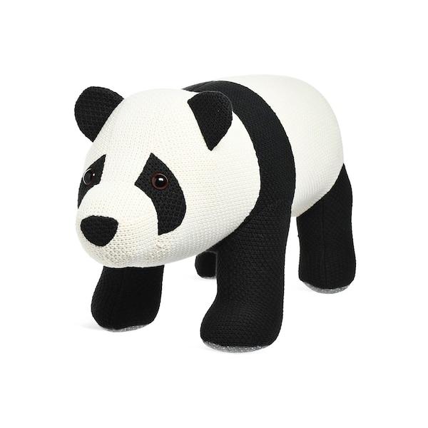 Hocker Panda, weiß