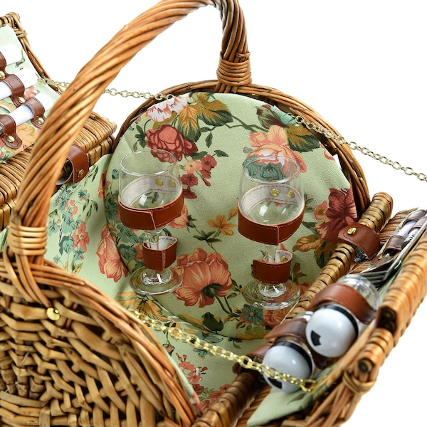 Picknickkorb, natur