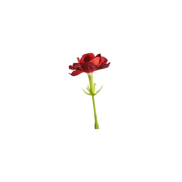 Kunstblumenpick Kaktusblüte, rot
