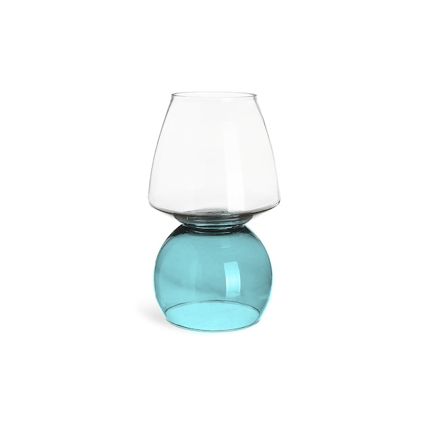 Vase Colorful aus Glas, bunt