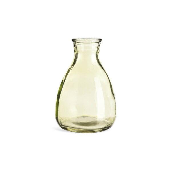 Vase en verre, vert clair