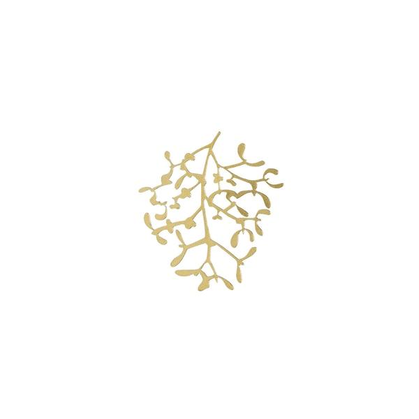 Dekoobjekt Blume, gold