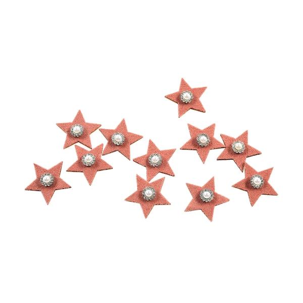 Streuartikel Glamour-Sterne, altrosa