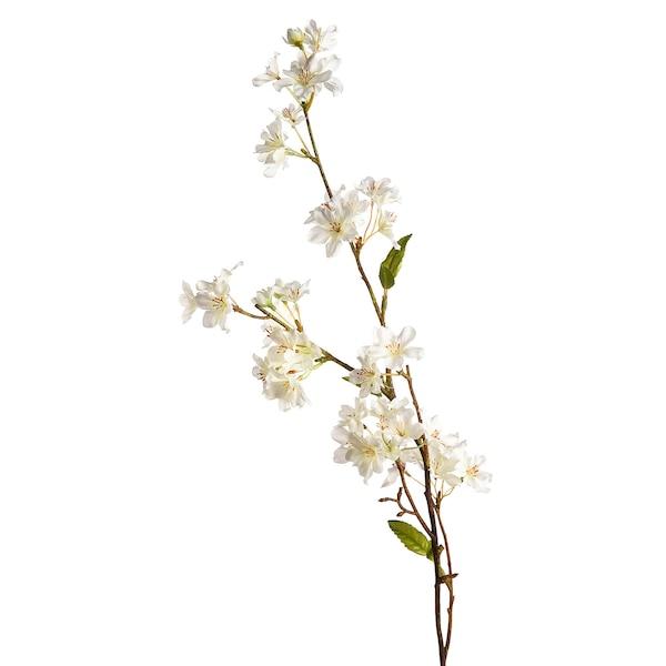 Kunstzweig Kirschblüte, weiß
