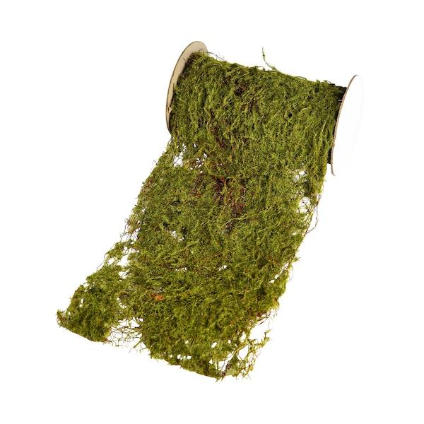 Tischband Moos, grün