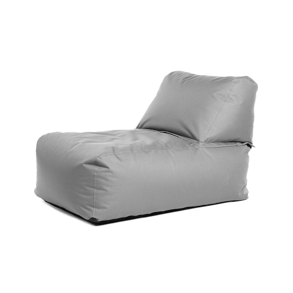 Outdoor-Loungesessel, gris