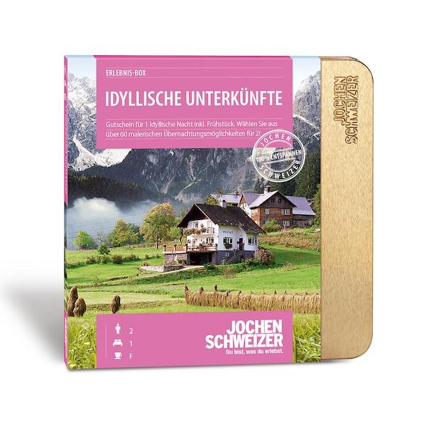 Erlebnis-Box 'Idyllische Unterkünfte für 2', bunt