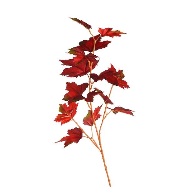 Kunstzweig Ahorn, rot