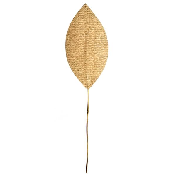 Dekoobjekt Blatt Big Jungle, braun