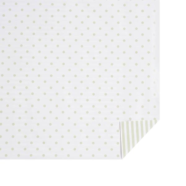 Geschenkpapier Dots & Stripes, mintgrün