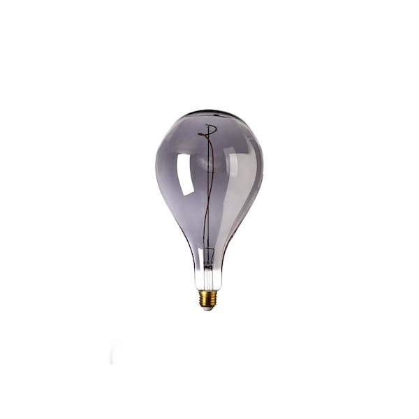 Glühbirne, LED, grau