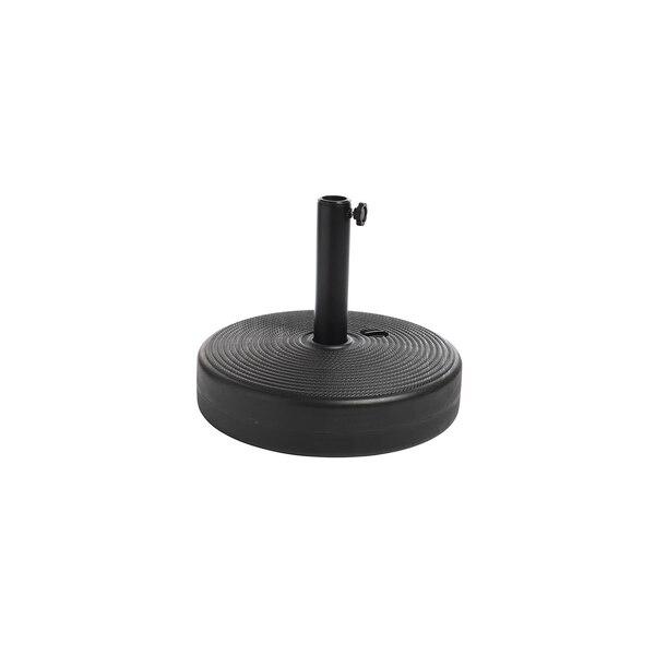 Schirmständer für Mastdurchmesser: 38-48mm, befüllbar, schwarz