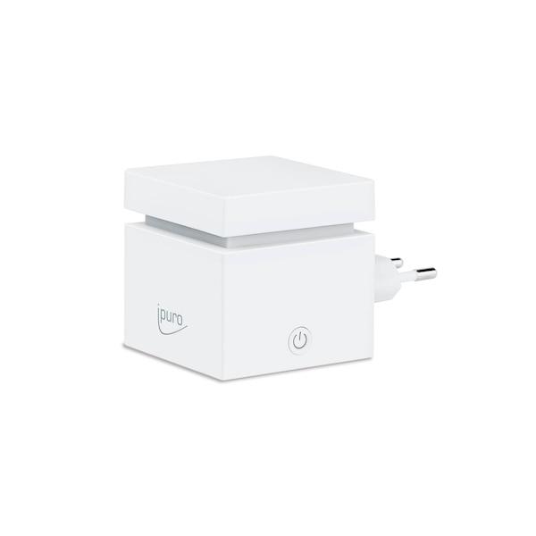 ipuro Air Pearls Electric Plug-In Cube White, weiß
