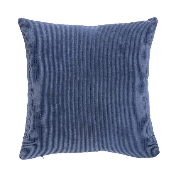 Kissenhülle Cord, blau