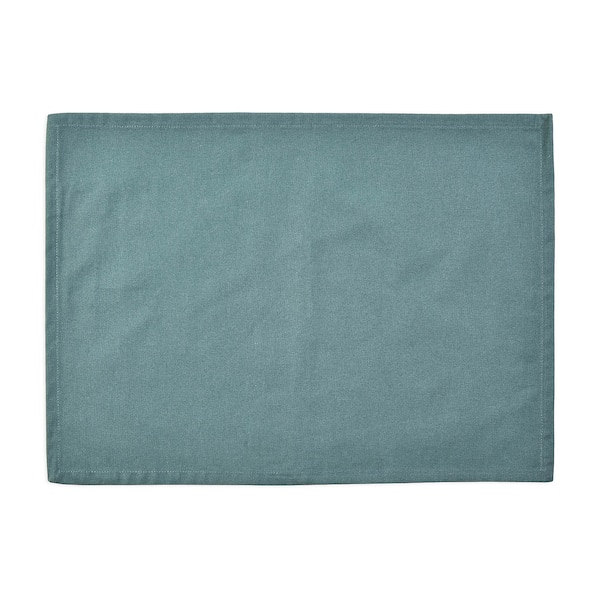 Outdoor-Tischset Uni, blaugrün