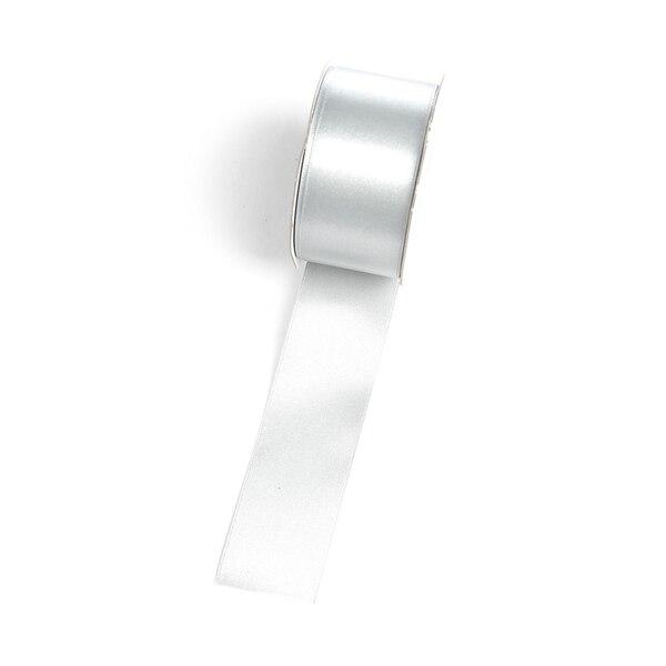 Satin-Band, silber