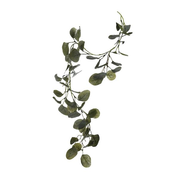 Girlande Eukalyptus, beeist, grün