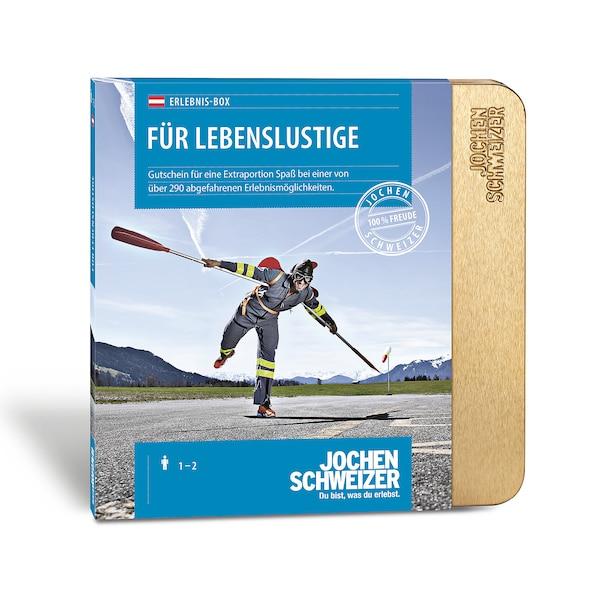 Gutscheinbox für Lebenslustige - nur in Österreich erhältlich, bunt