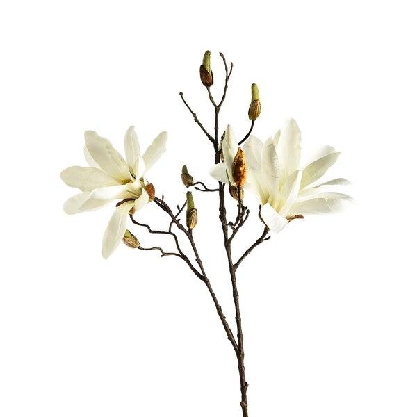 Kunstzweig Magnolie, weiß