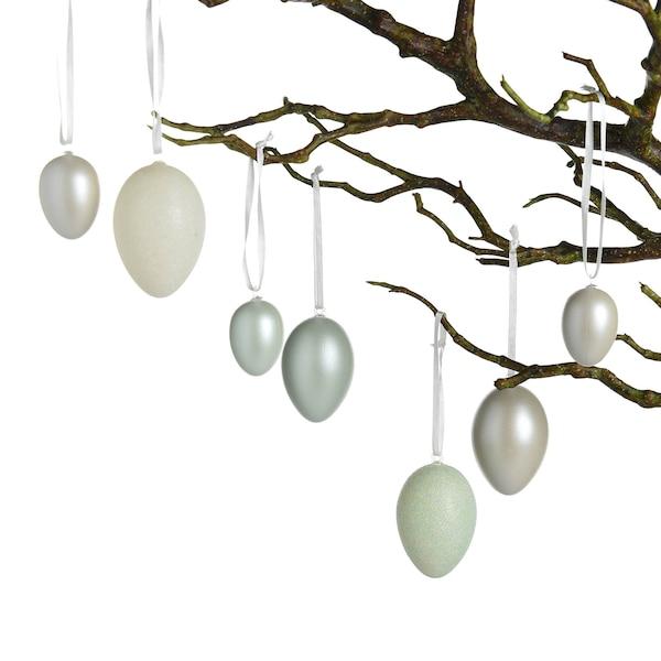 Anhänger Eier, grün
