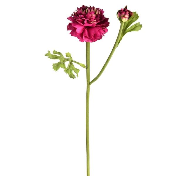 Kunstblume Ranunkel, pink