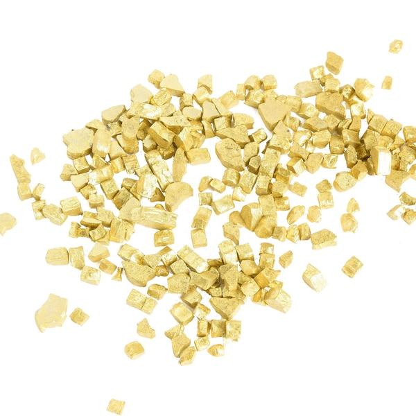 Granulat Glittersteine, gold