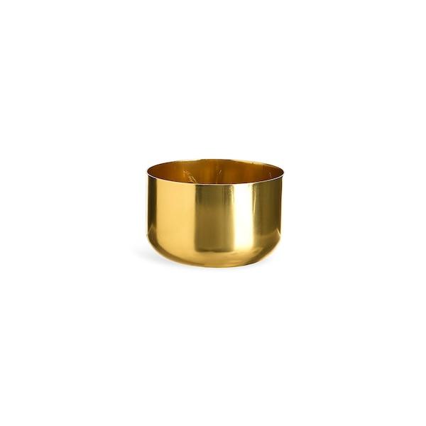 Kerzenteller Mix and Match, gold