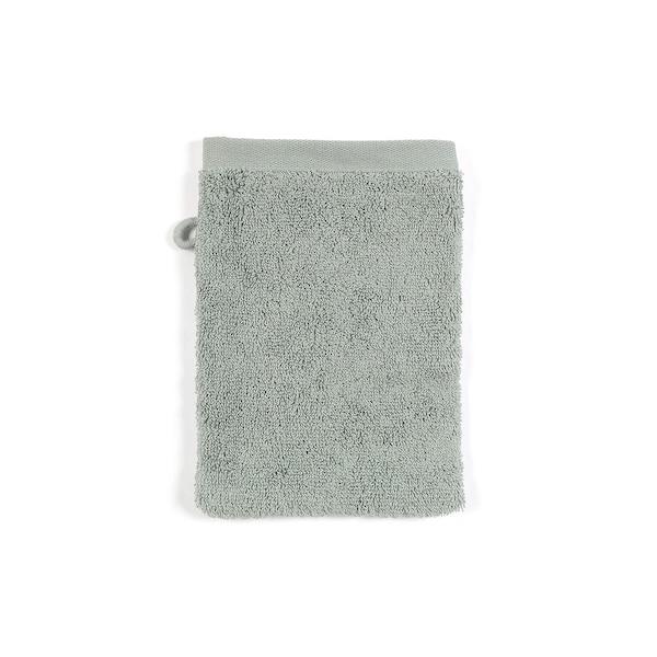 Waschhandschuh Pure, graugrün