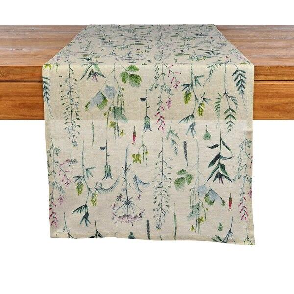 Tischläufer Gräser, grün