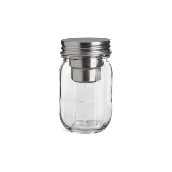 Vorratsglas mit Einsatz, klar