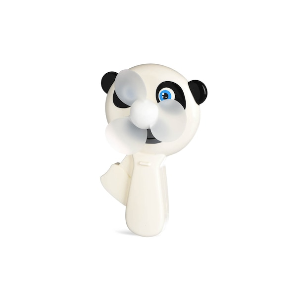 Handventilator Pandabär, weiß