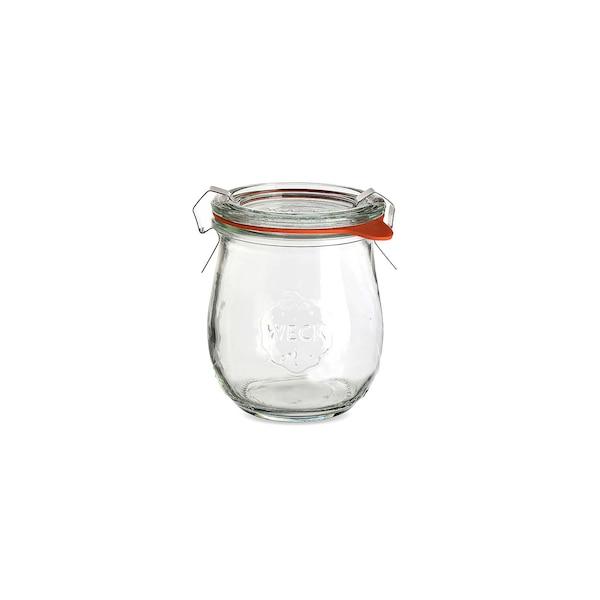Einweckglas in Tulpenform, klar